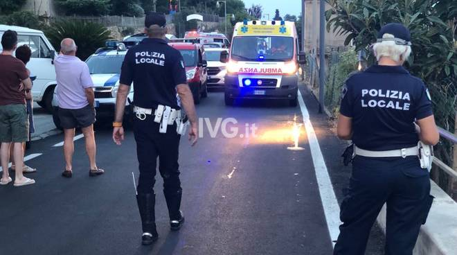 incidente strada ranzi