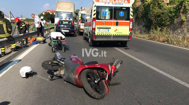 Incidente sulla provinciale per Villanova
