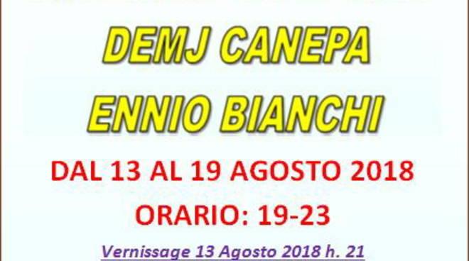 """""""La Forza dell'Arte"""" mostra Galleano Canepa Bianchi"""