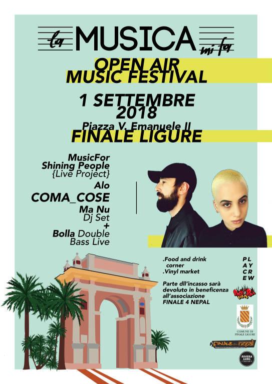 La Musica MiFa - Open Air Fest Finale Ligure 2018