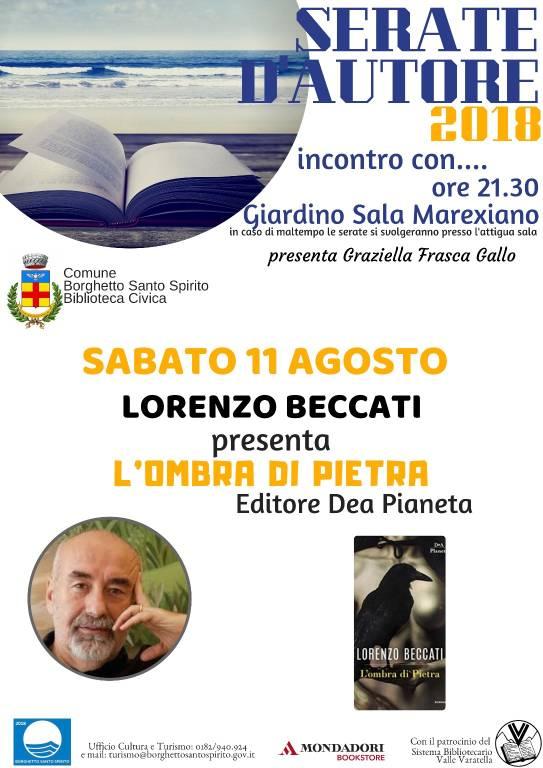 """Lorenzo Beccati """"L'ombra di pietra"""""""