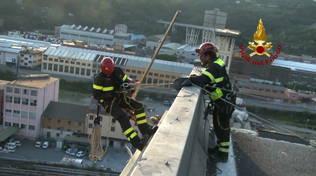 messa in sicurezza morandi vigili del fuoco