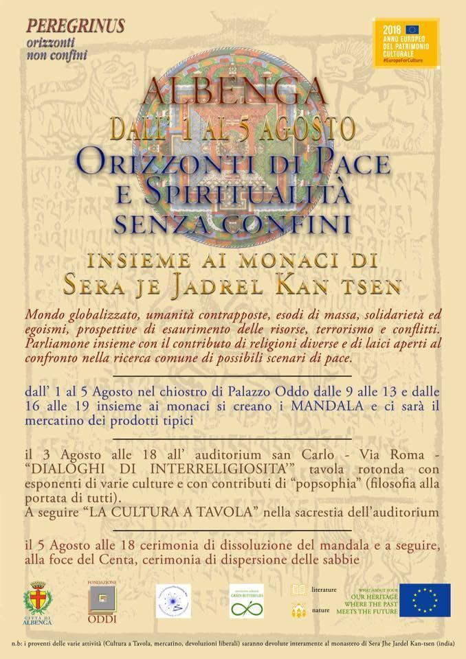 """""""Orizzonti di Pace e Spiritualità senza confini"""""""