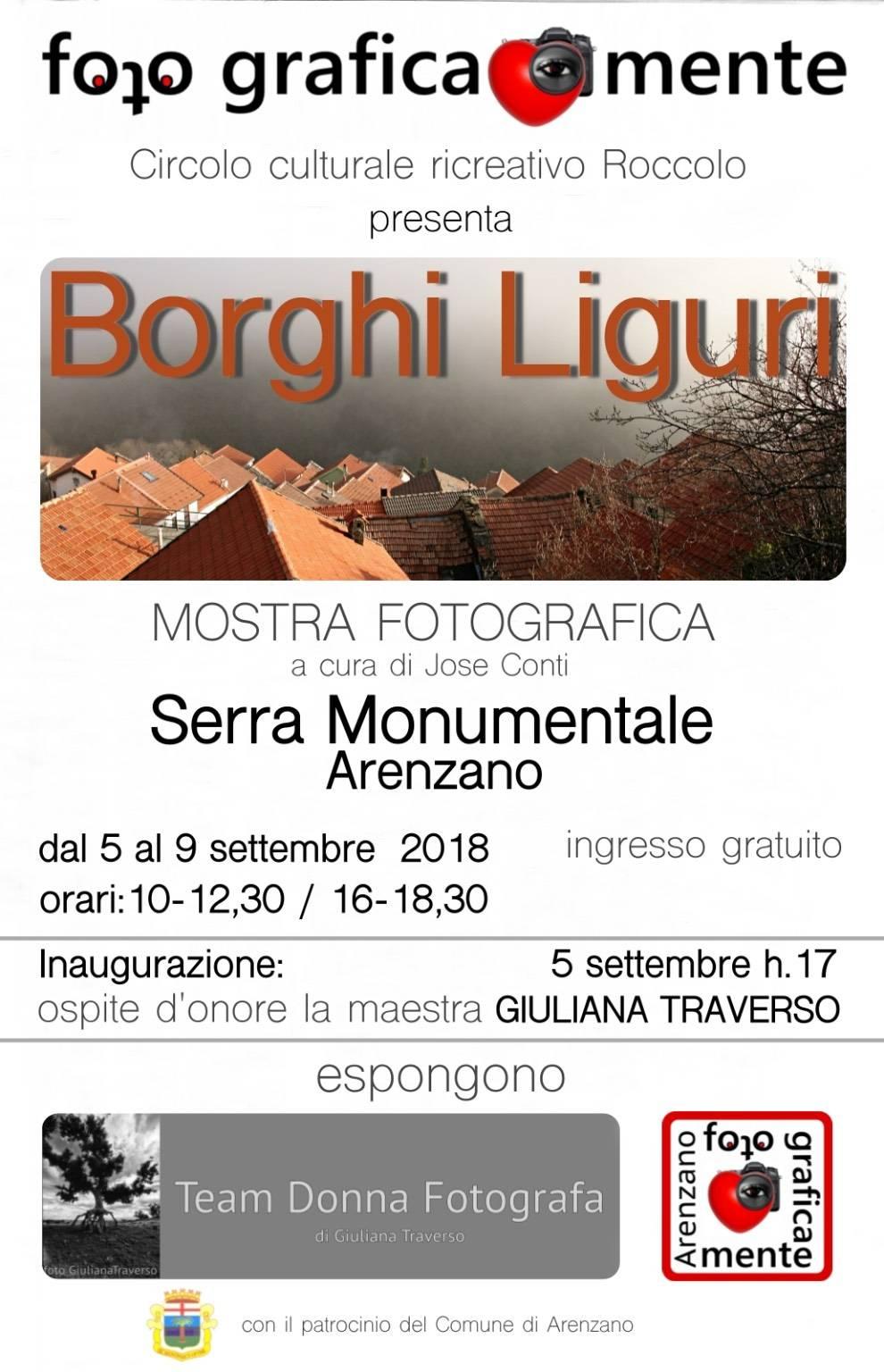 """""""Borghi Liguri"""" mostra fotografica"""