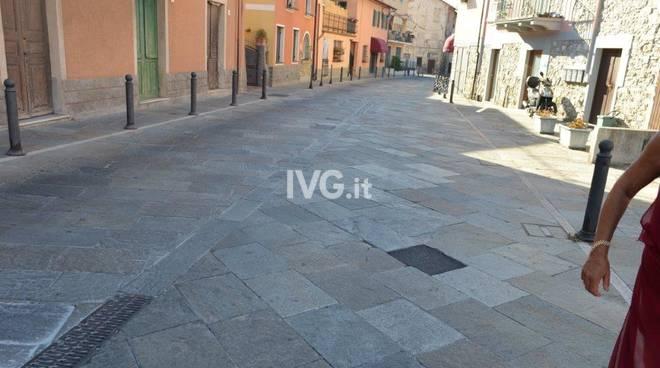 Nuova pavimentazione Molino Nuovo Andora