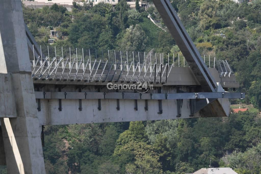 ponte morandi e zona rossa