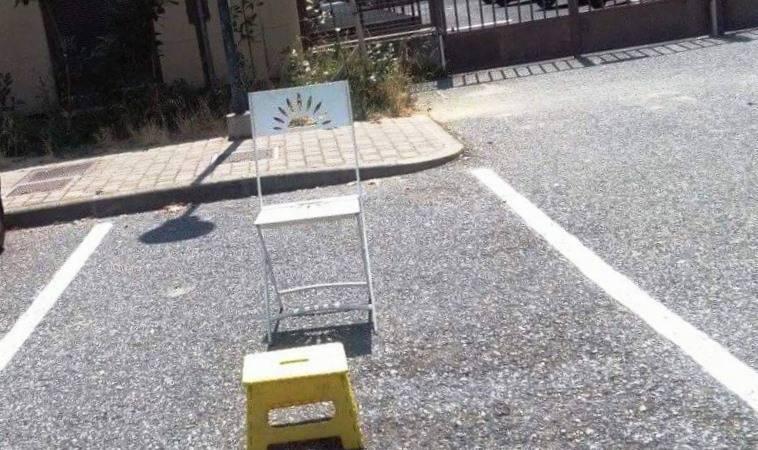 Pietra sedia e sgabello per non perdere il parcheggio ivg
