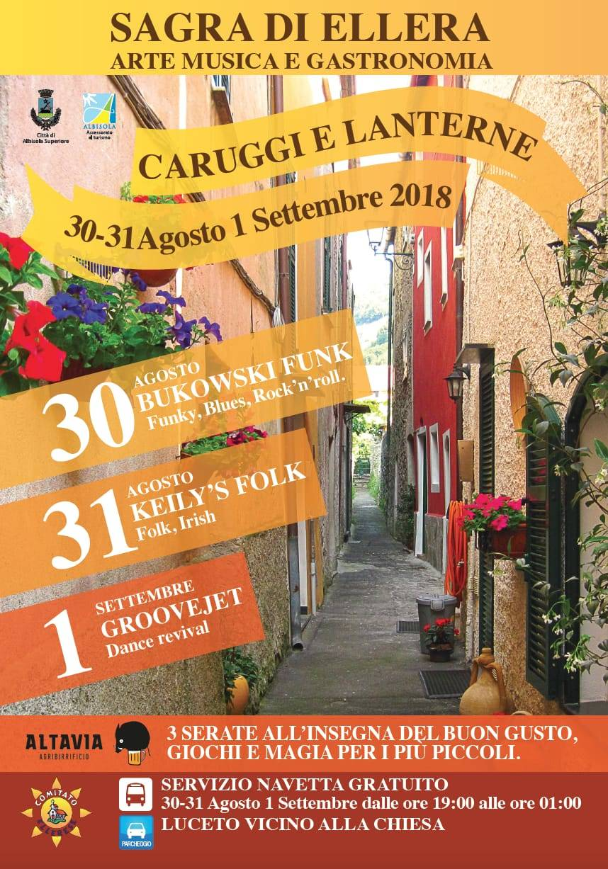 """Sagra di Ellera """"Caruggi e Lanterne"""" 2018"""