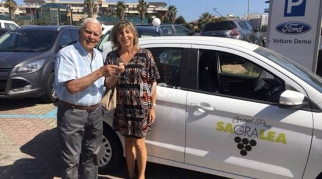 Sagralea Ford Ka premio lotteria
