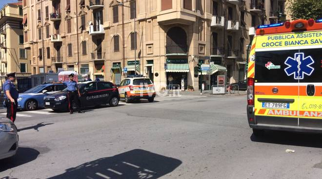 polizia carabinieri ambulanza santa rita
