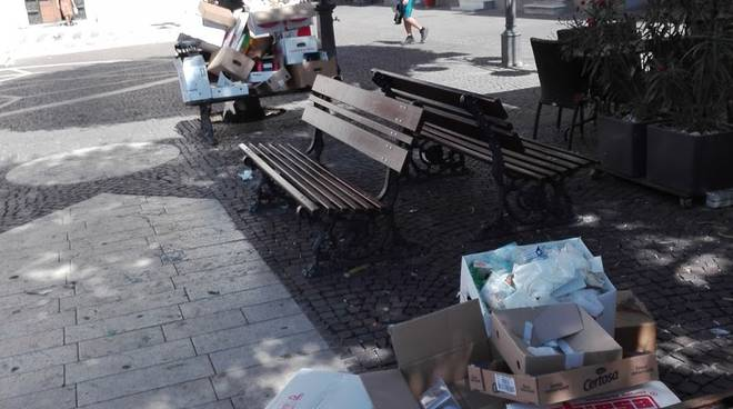 spazzatura Pietra Ligure