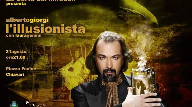 """Spettacolo magia """"L'illusionista"""" Alberto Giorgi"""