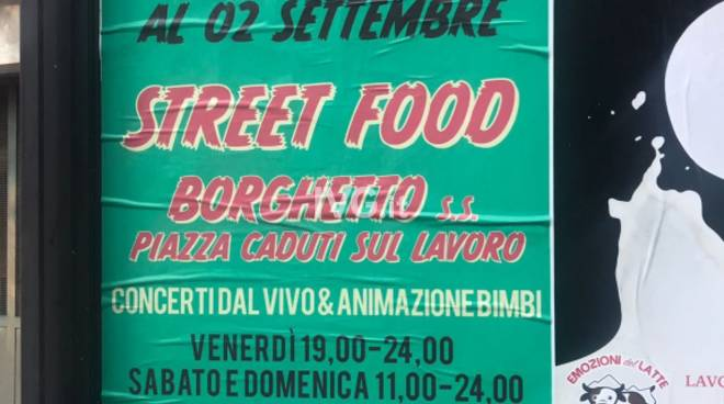 Street Food Borghetto annullata