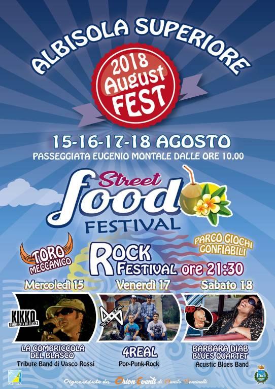 Street Food Festival Albisola Superiore 2018