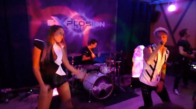 explosion energy disco show
