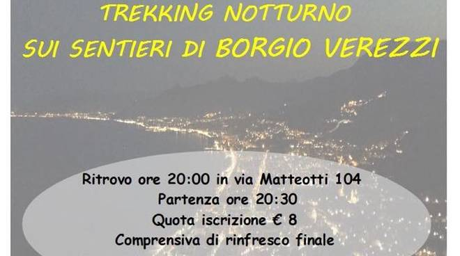 Trekking notturno sentieri Borgio Verezzi