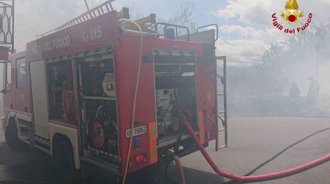 vigili del fuoco incendio vvff