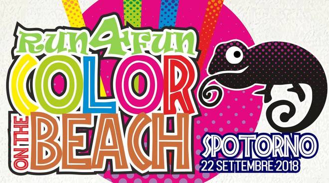 A Spotorno la Run4Fun - Color on the beach: gli sponsor