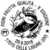 Annullo filatelico Celle Ligure