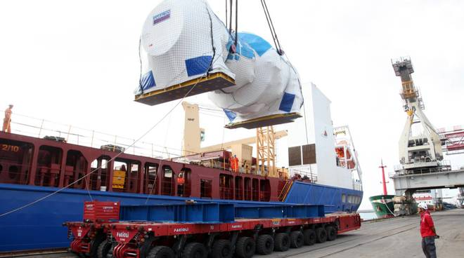 Ansaldo turbina imbarcata