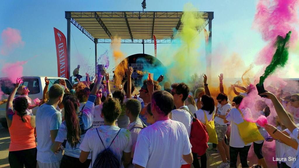 Beach Color Run Varazze 2018