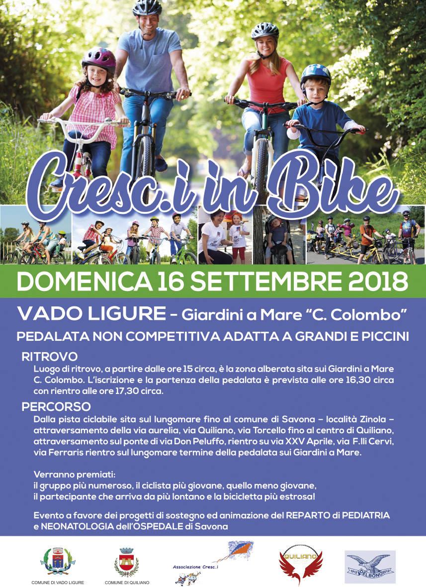 "Biciclettata ""Cresc.i in Bike"" 2018"