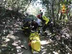 Biker ferito ad Orco Feglino