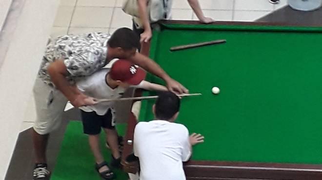 Biliardo snooker Il Gabbiano Savona