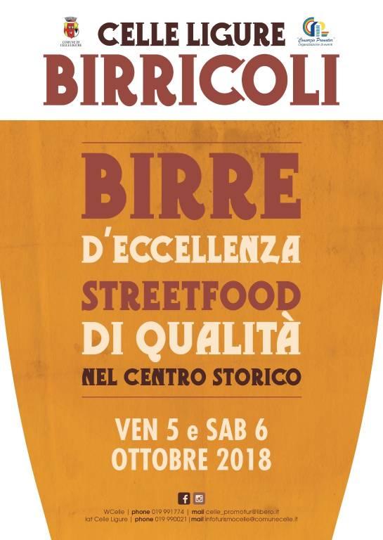 Birricoli 2018 Celle Ligure