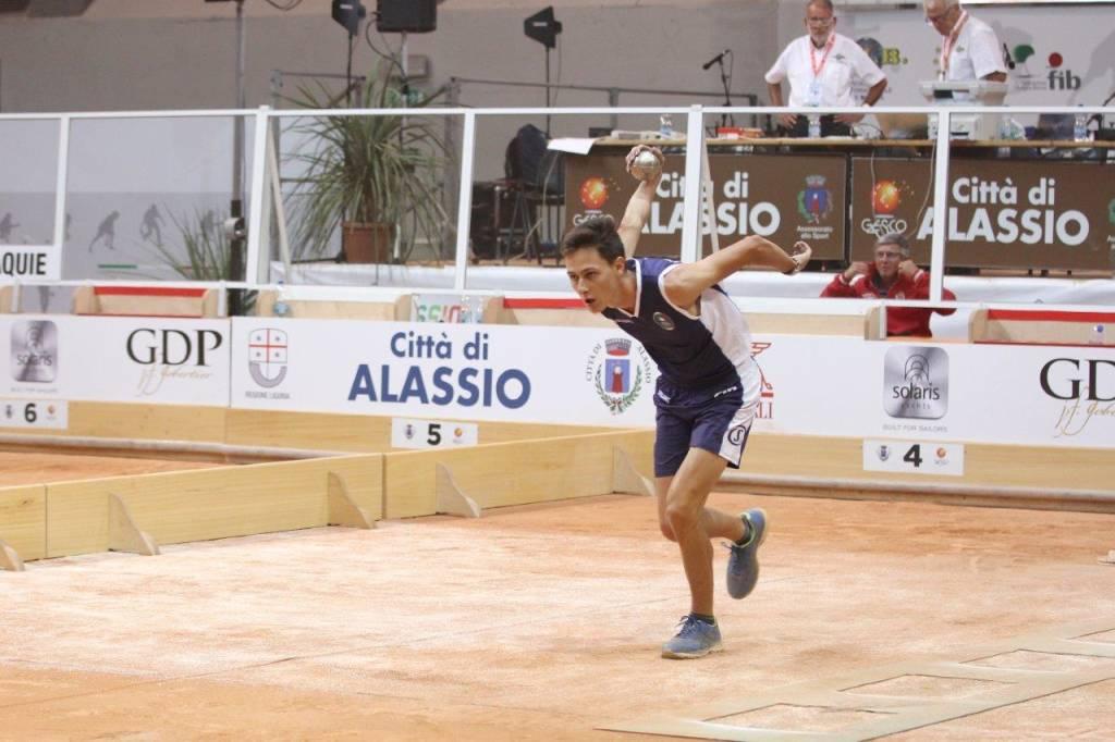 Bocce: il campionato europeo di Alassio entra nel vivo