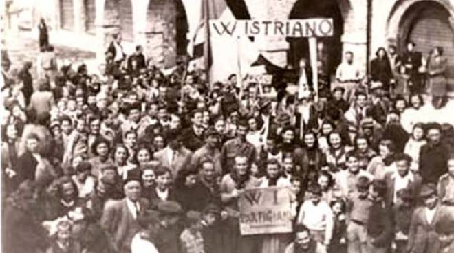 brigata mezzanego, partigiani