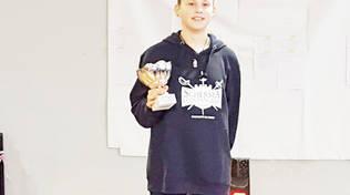 La spada di Beatrice Cavaleri Marson partecipa per la regione Liguria al Trofeo CONI Kinder+Sport