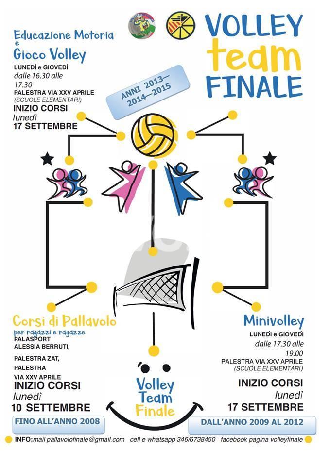 PARTENZA COL BOTTO PER IL VOLLEY TEAM FINALE!