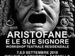 Stasera a Sassello: ARISTOFANE E LE SUE SIGNORE. Apericena sociale e prova teatrale aperta