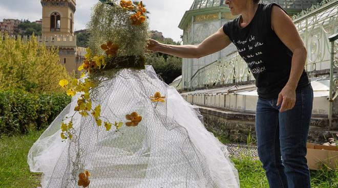 """Il Parco di Villa Negrotto Cambiaso si veste di bianco per \""""Wedding in Arenzano\"""""""