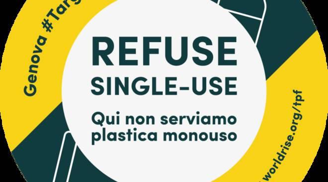 Genova #TargetPlasticFree sta per decollare! Il nuovo progetto di Worldrise ONLUS: una rete di locali che non serve plastica monouso nel centro storico di Genova