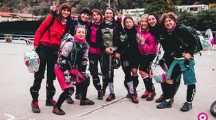 """A Finalborgo \""""Wheels for Ladies\"""" e scuola bike \""""in rosa\"""""""