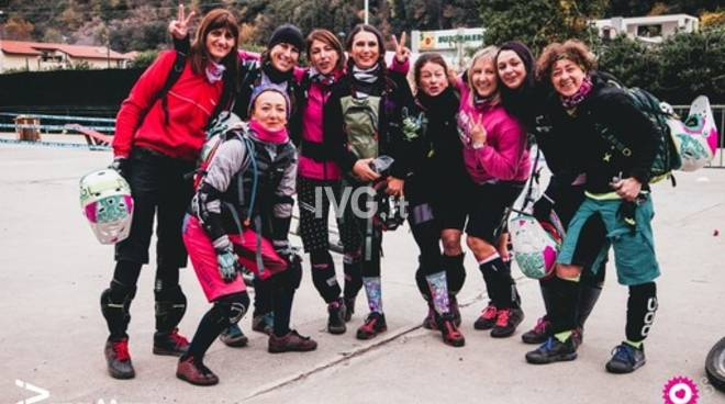 "A Finalborgo ""Wheels for Ladies\"" e scuola bike \""in rosa\"""
