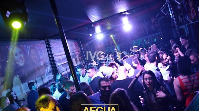INAUGURAZIONE AEGUA DISCO CLUB VARAZZE