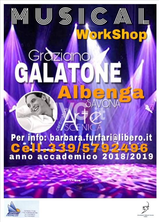 Arte Scenica -workshop GRAZIANO GALATONE