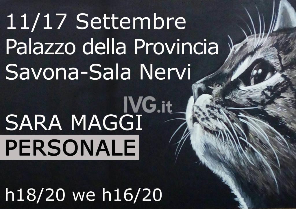 Mostra personale al Palazzo della Provincia di Savona Sala Nervi