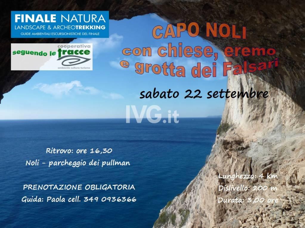 Escursione alla Grotta dei Falsari