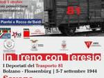 """Oggi a Savona inaugurazione della mostra\"""" In treno con Teresio. I deportati del trasporto 81\"""""""