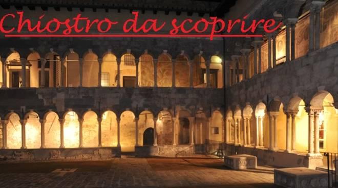 Chiostro Cattedrale San Lorenzo notte