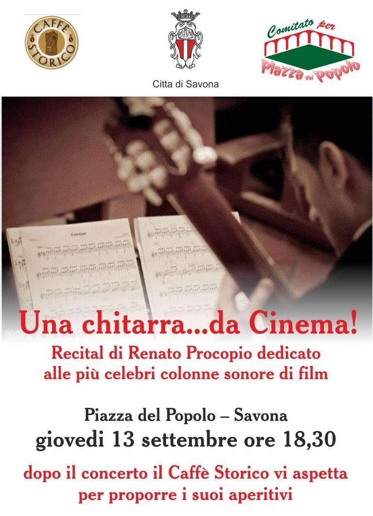 Concerto chitarra classica colonne sonore Renato Procopio