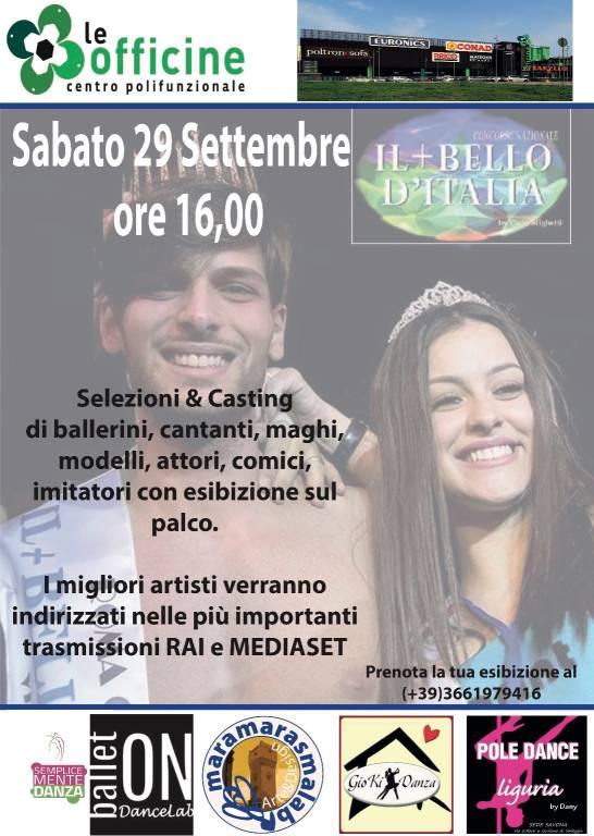 """Concorso Nazionale """"Il + Bello d'Italia"""" 2018 Savona"""