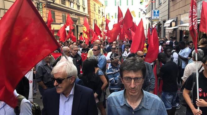 Corteo di Lotta comunista contro il governo della paura - 29 settembre -