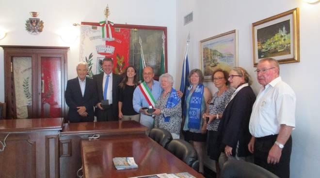 Delegazione franco-tedesca Laigueglia