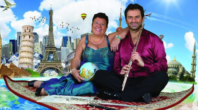 Duo musicale flauto Alessandro Crosta pianoforte Nadia Testa
