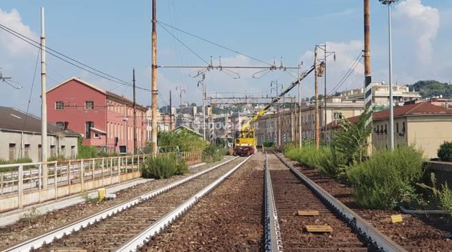 ferrovia crollo ponte morandi campasso
